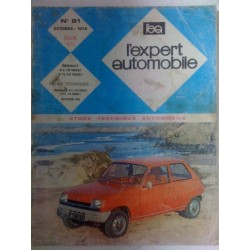 Revue technique Renault 5 salon 1972