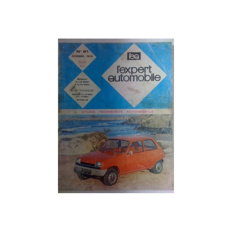Revue technique Renault 5 salon 1972