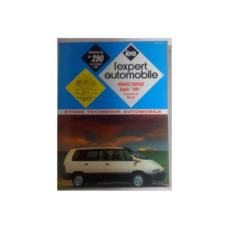 Revue technique Renault Espace depuis 1991