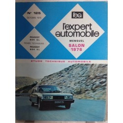 RTA Revue technique l'expert automobile Peugeot 604 sl