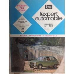 RTA Revue technique l'expert automobile Peugeot 104 coupé