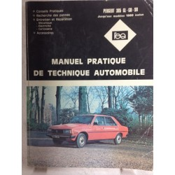 RTA Revue technique l'expert automobile Peugeot 305