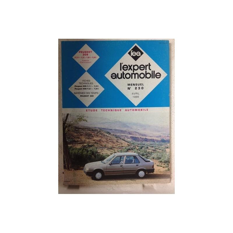 RTA Revue technique l'expert automobile Peugeot 309
