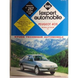 RTA Revue technique l'expert automobile Peugeot 405