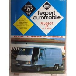 RTA Revue technique l'expert automobile Peugeot j9