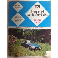 RTA Revue technique l'expert automobile Citroën CX