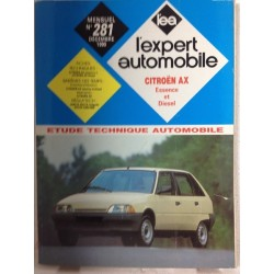 RTA Revue technique l'expert automobile Citroën AX