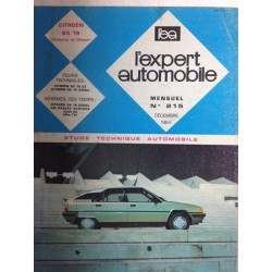 RTA Revue technique l'expert automobile Citroën BX 19