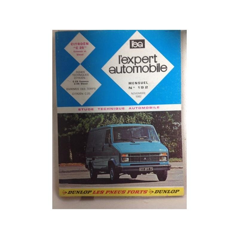 RTA Revue technique l'expert automobile Citroën C25