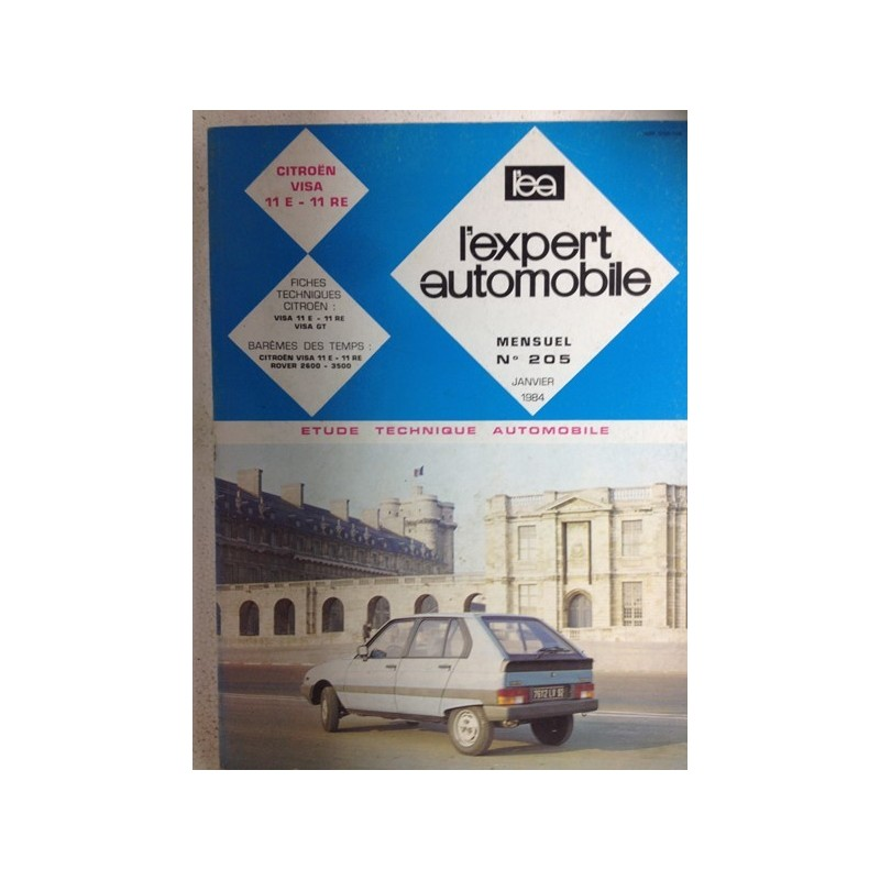 RTA Revue technique l'expert automobile Citroën visa