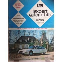 RTA Revue technique l'expert automobile Citroën cx 2500