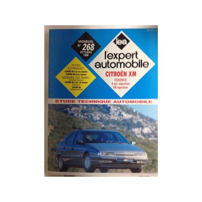 RTA Revue technique l'expert automobile Citroën XM