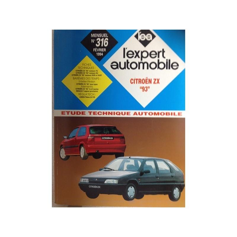 RTA Revue technique l'expert automobile Citroën ZX