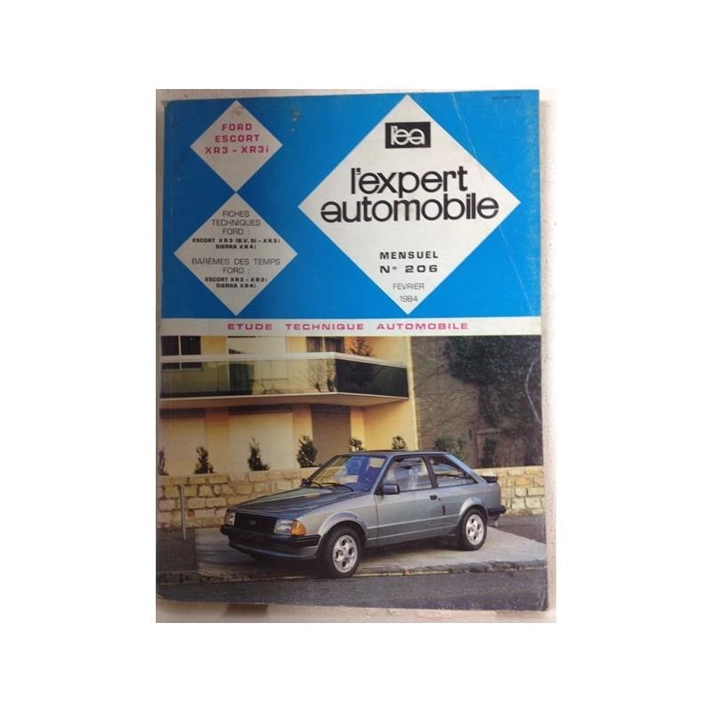 RTA Revue technique l'expert automobile Ford Escort XR3
