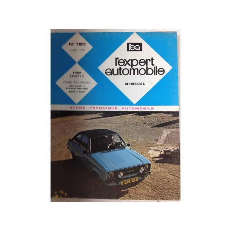 RTA Revue technique l'expert automobile Ford Escort 2