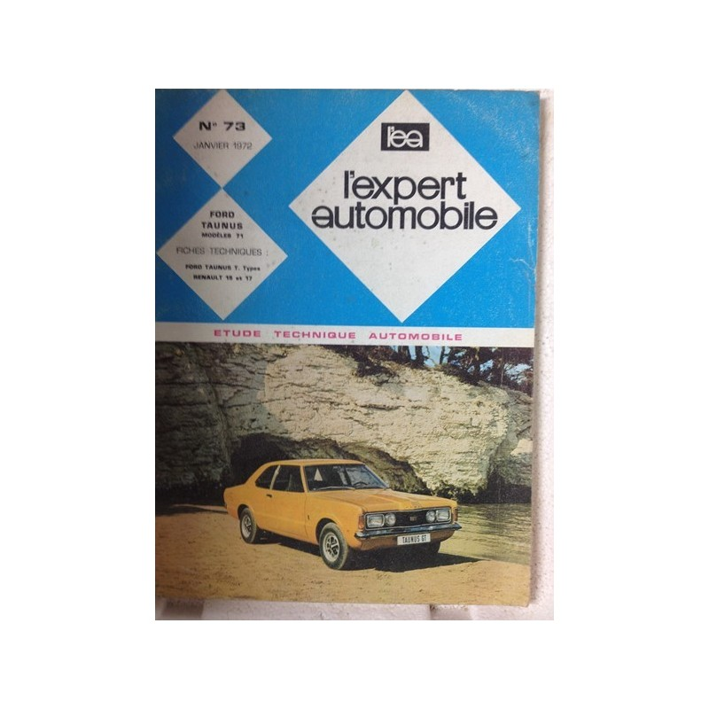 RTA Revue technique l'expert automobile Ford Taunus