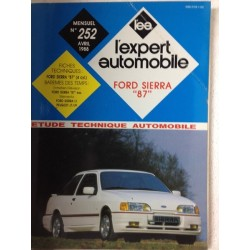 "RTA Revue technique l'expert automobile Ford Sierra ""87"""