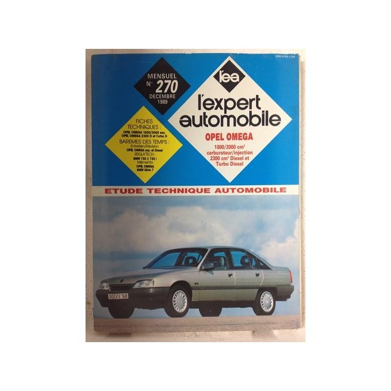 RTA Revue technique l'expert automobile Opel Omega