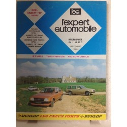 RTA Revue technique l'expert automobile Opel Kadett diesel
