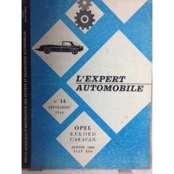 RTA Revue technique l'expert automobile Opel Rekord Caravan