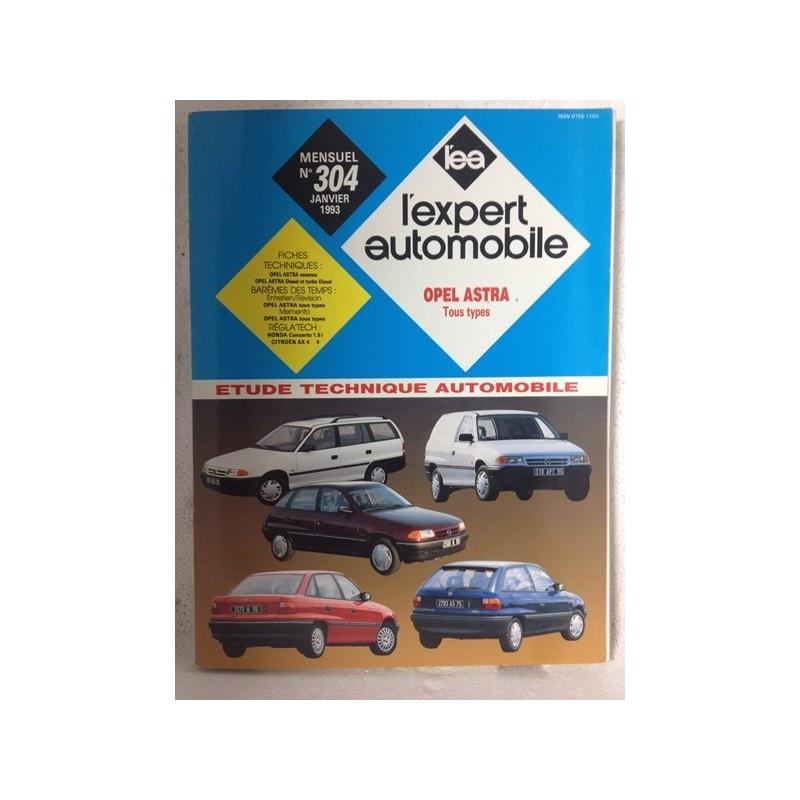 RTA Revue technique l'expert automobile Opel Astra