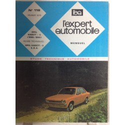 RTA Revue technique l'expert automobile Opel Kadett C