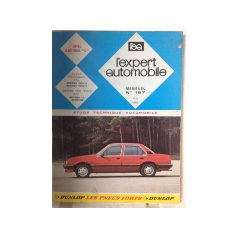 RTA Revue technique l'expert automobile Opel Ascona C