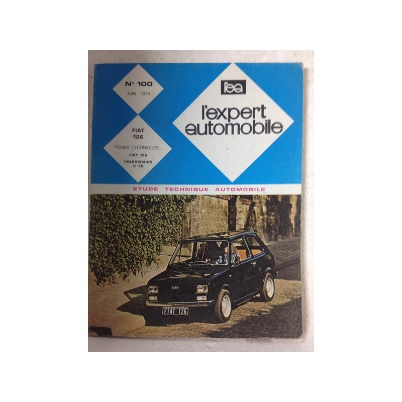 RTA Revue technique l'expert automobile Fiat 126