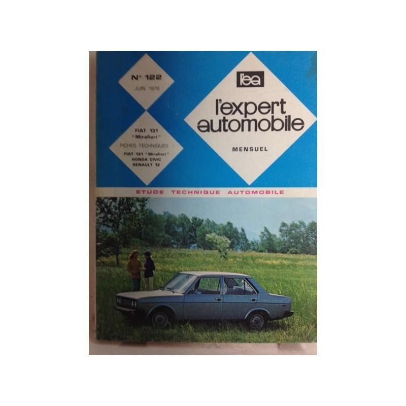 RTA Revue technique l'expert automobile Fiat 131 Mirafiori