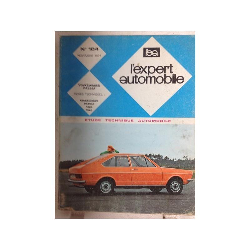 RTA Revue technique l'expert automobile Volkswagen Passat