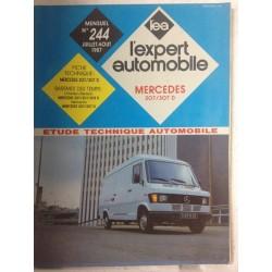 RTA Revue technique l'expert automobile Mercedes 207/307d