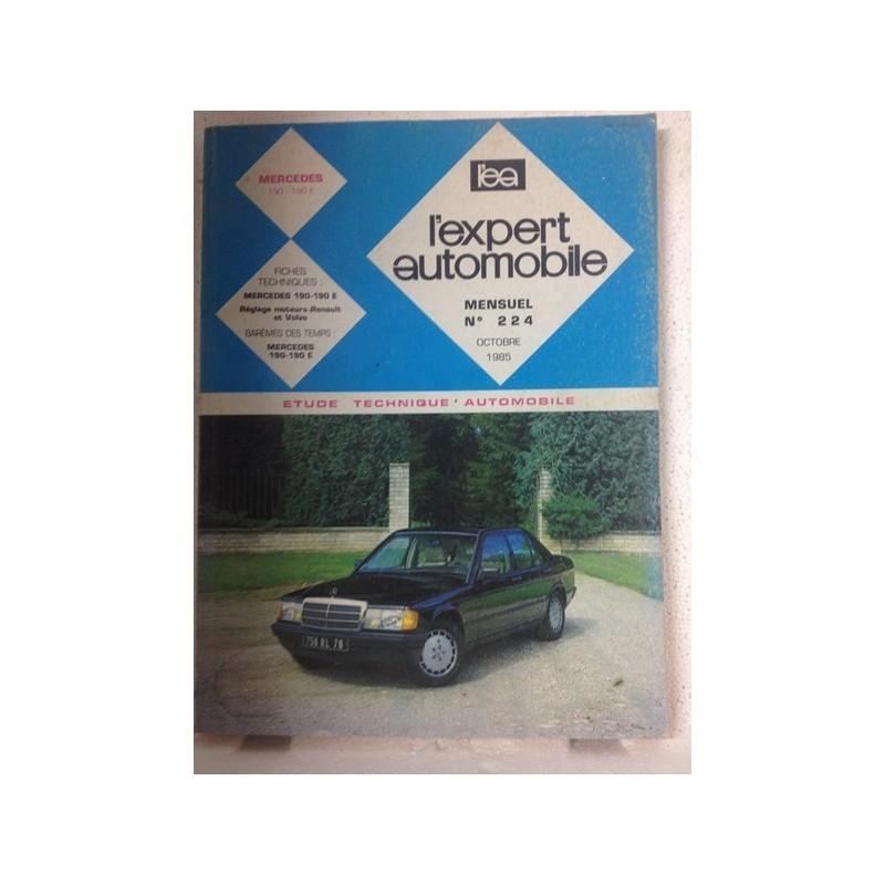 RTA Revue technique l'expert automobile Mercedes 190