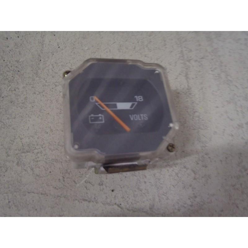 Voltmètre charge batterie